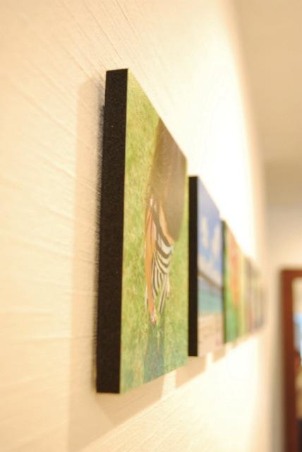 壁に穴をあけずに、飾る!方法 by OURHOME Emi