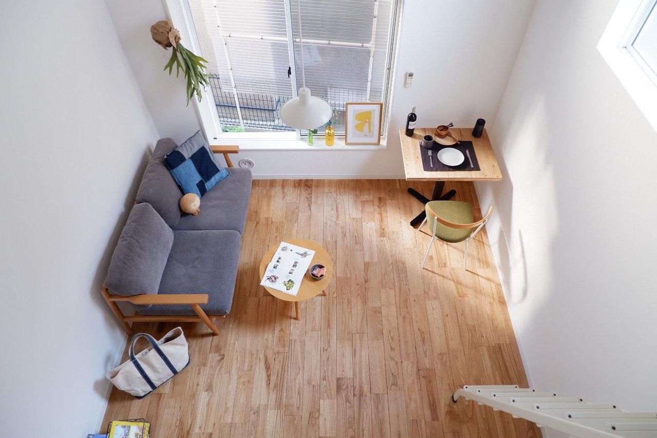 「本物の木」を使っているからこそ、風合いがよく家具を合わせやすいのが特徴です。