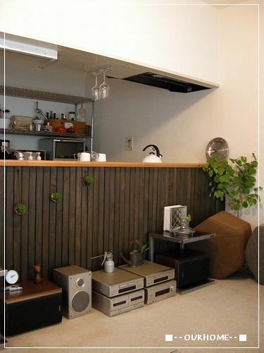 賃貸でもキッチンをカスタマイズ by OURHOME Emi