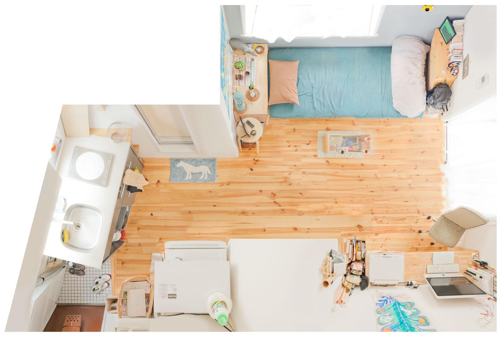 狭くても諦めない賃貸間取りのチョイスと家具配置の実例まとめ