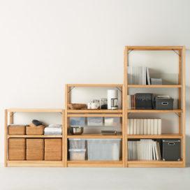 【地味に便利】IKEAと無印の本棚につかえる収納 奥行き別まとめ