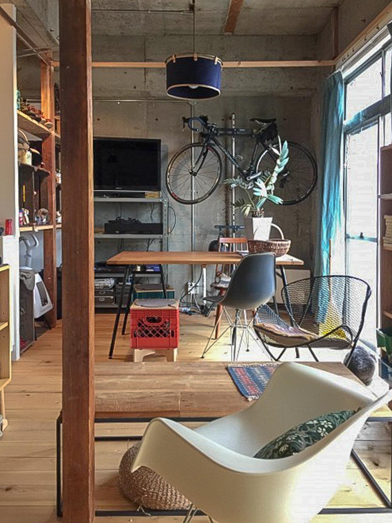 好きな家具を中心に、全体のイメージを作っていきます。