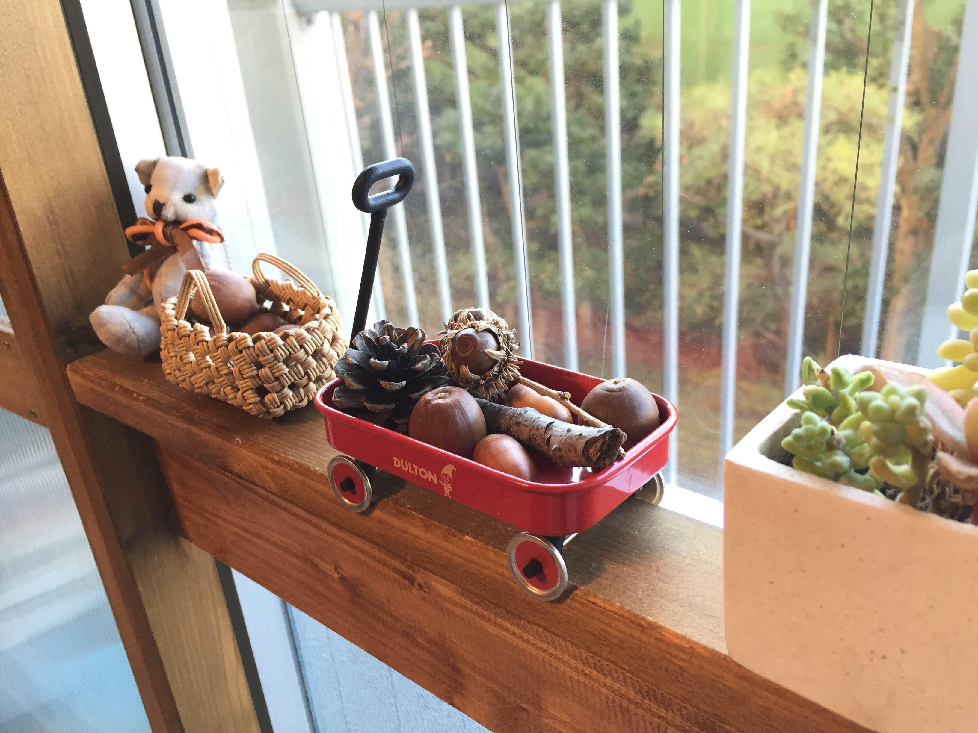 窓辺をオシャレに飾る♪賃貸でも取り外し可能な木枠を作ろう!