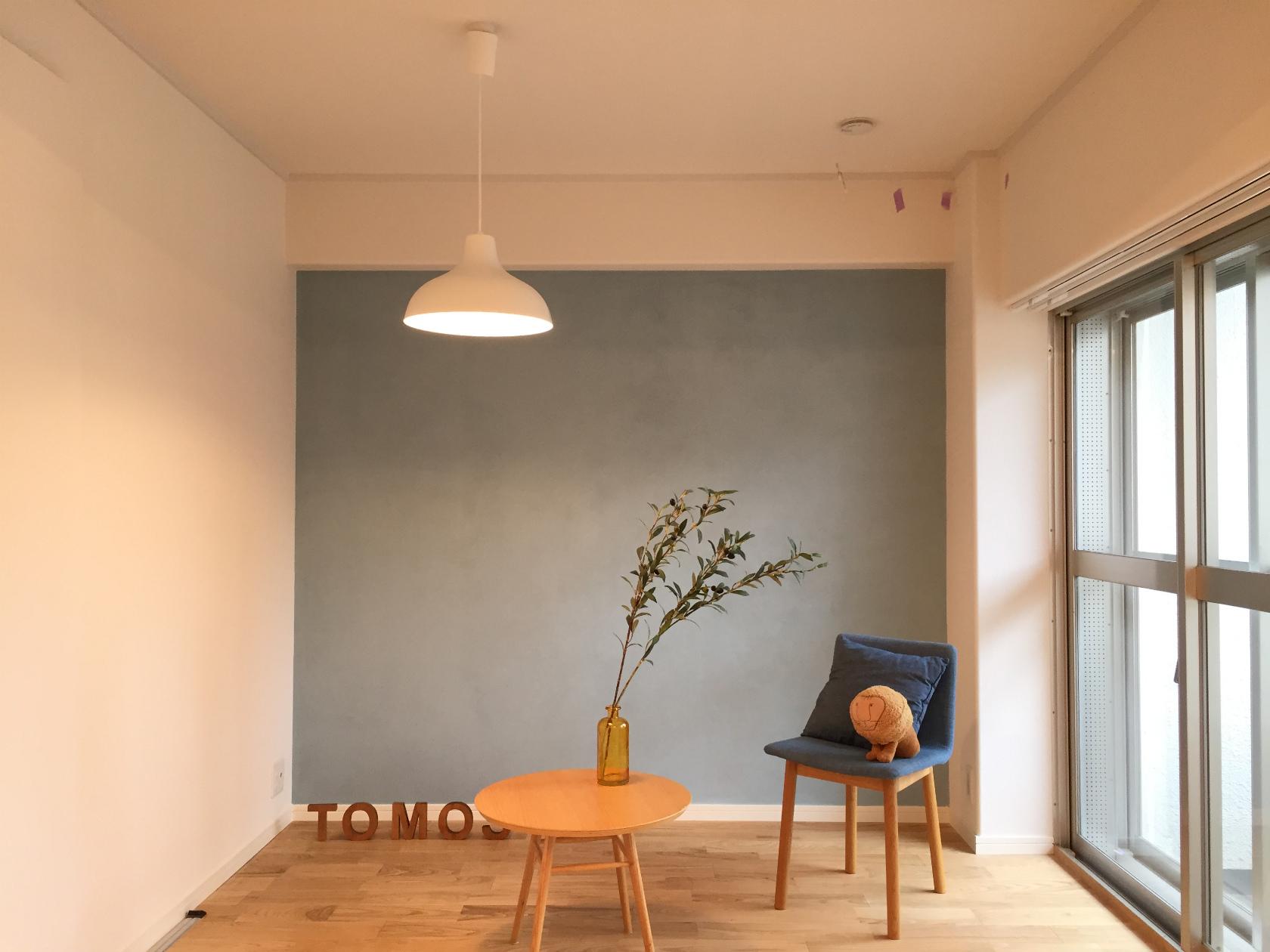 賃貸でも壁の塗装ってできるの やってみました 賃貸diy部 01 Goodroom Journal