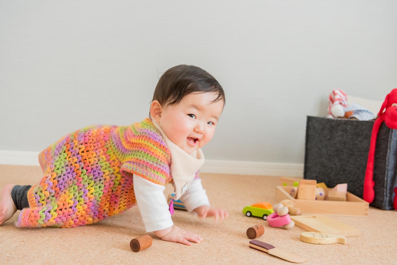 部屋の取材の話が、気がつけば赤ちゃんの話に。いかんいかん。