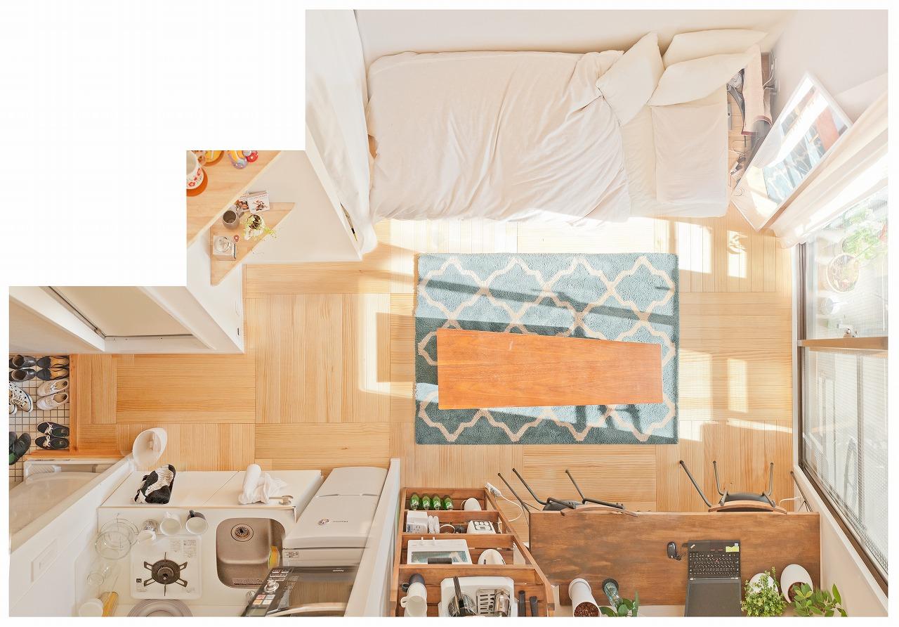 参考になるお部屋がいっぱい!ひとり暮らしのインテリア実例はこちらをご覧ください