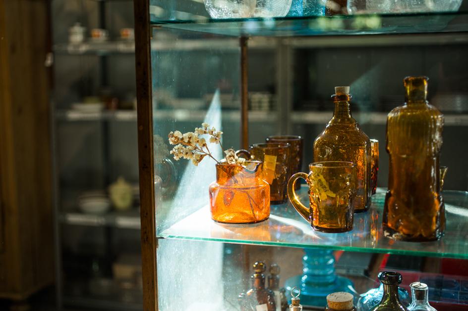 スウェーデンのデザイナー、エリック・ホグランのガラスの作品たち。
