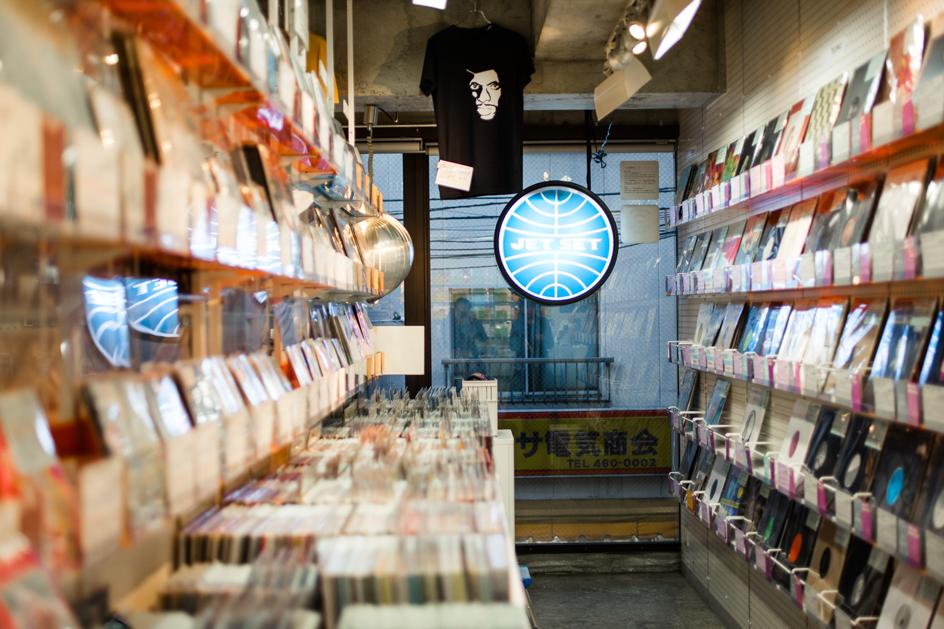 世話が焼けるけど可愛いレコード。『JET SET TOKYO(東京・下北沢)』