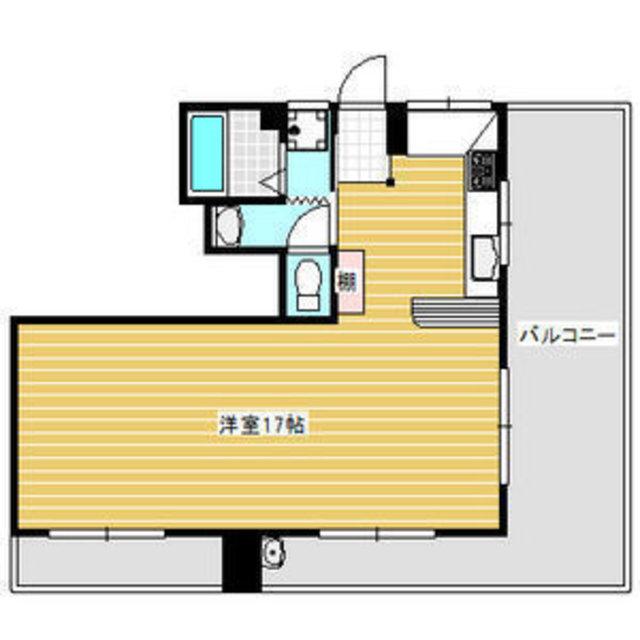 南向きに大きな窓が2つ、東向きにも大きなバルコニー、キッチン、お風呂も窓があります。