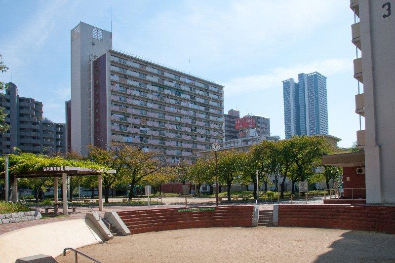 大阪市内では屈指の人気を誇る鷺洲第二団地