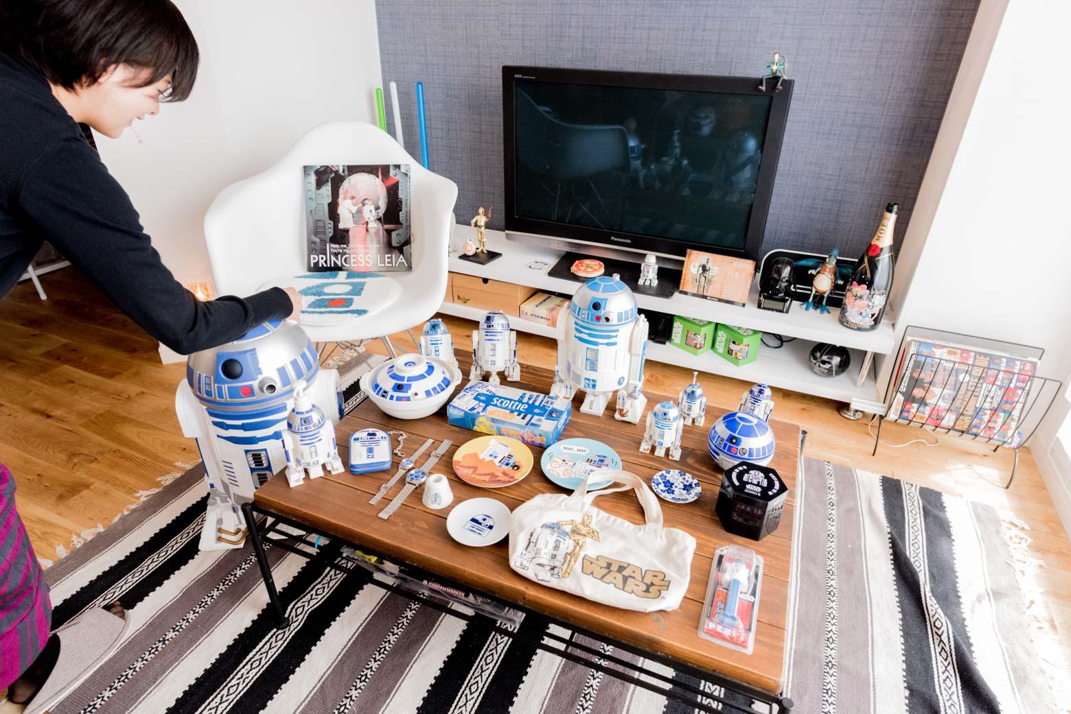 今回は当然、R2-D2たちを並べるでしょう。