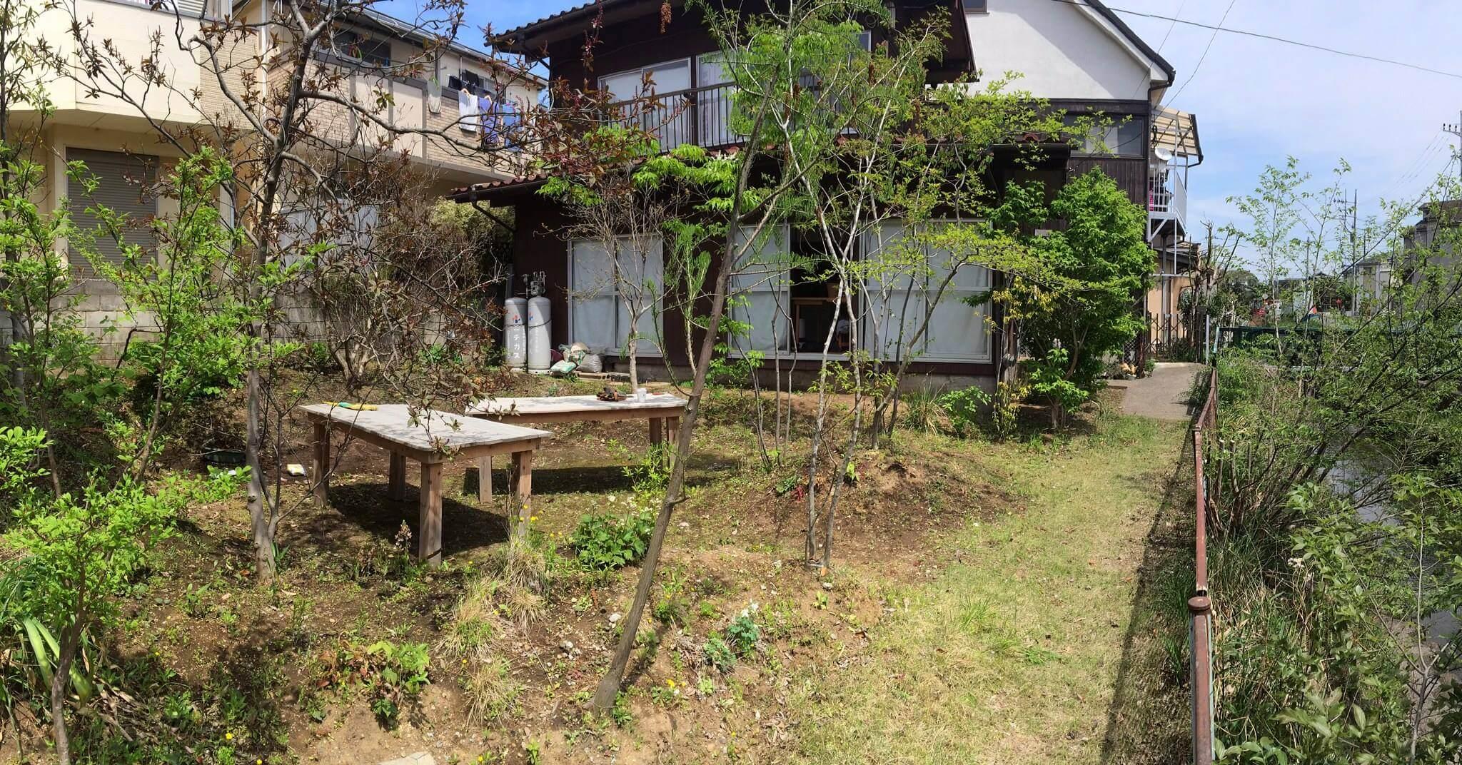 会場になるのは和光市の一軒家。広いお庭が素敵です。