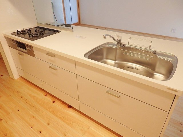 キッチンはもちろん最新式です。