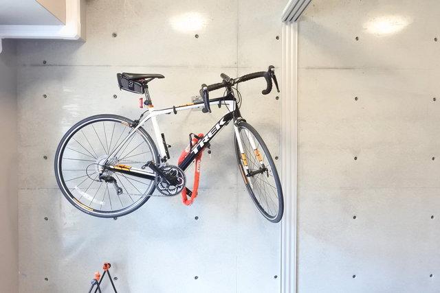 毎日、自転車と暮らす部屋です。
