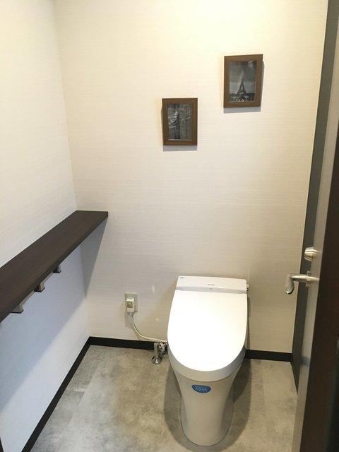 トイレもしゃれてる!