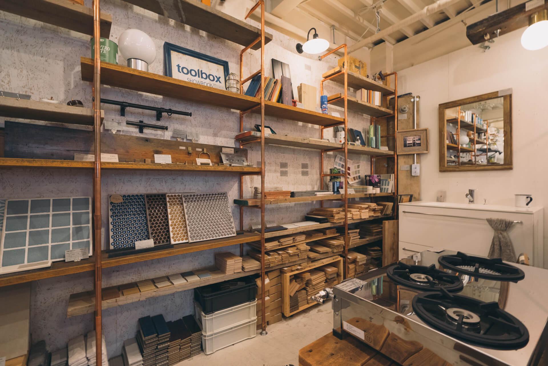 DIYでも質感にはこだわりたい! toolbox に揃うとっておきのDIYアイテム(東京・原宿)