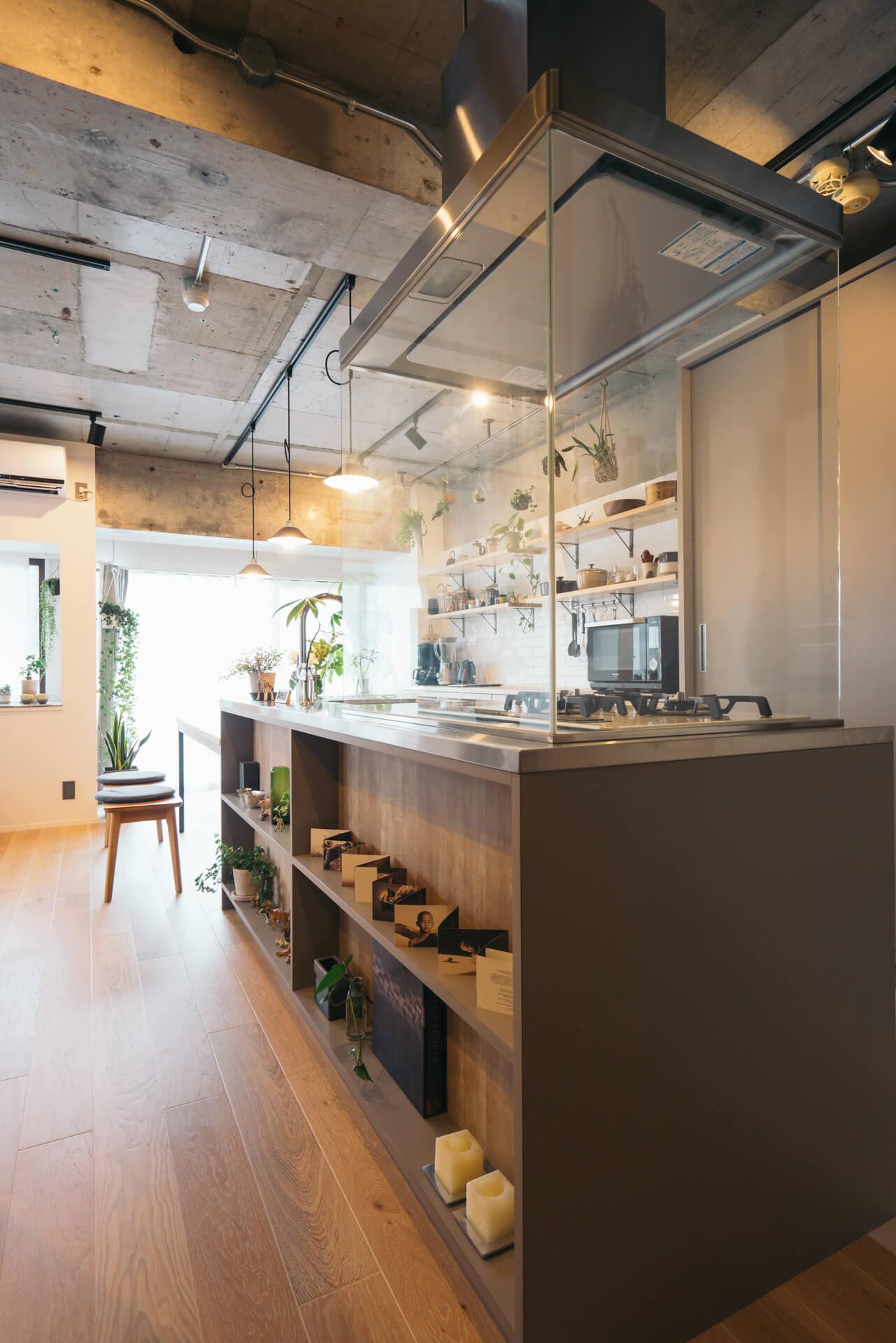 お部屋の中でも、キッチンは一番こだわったポイント。