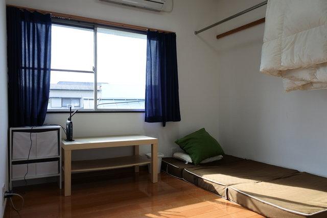 個室はこんな感じで必要十分です。