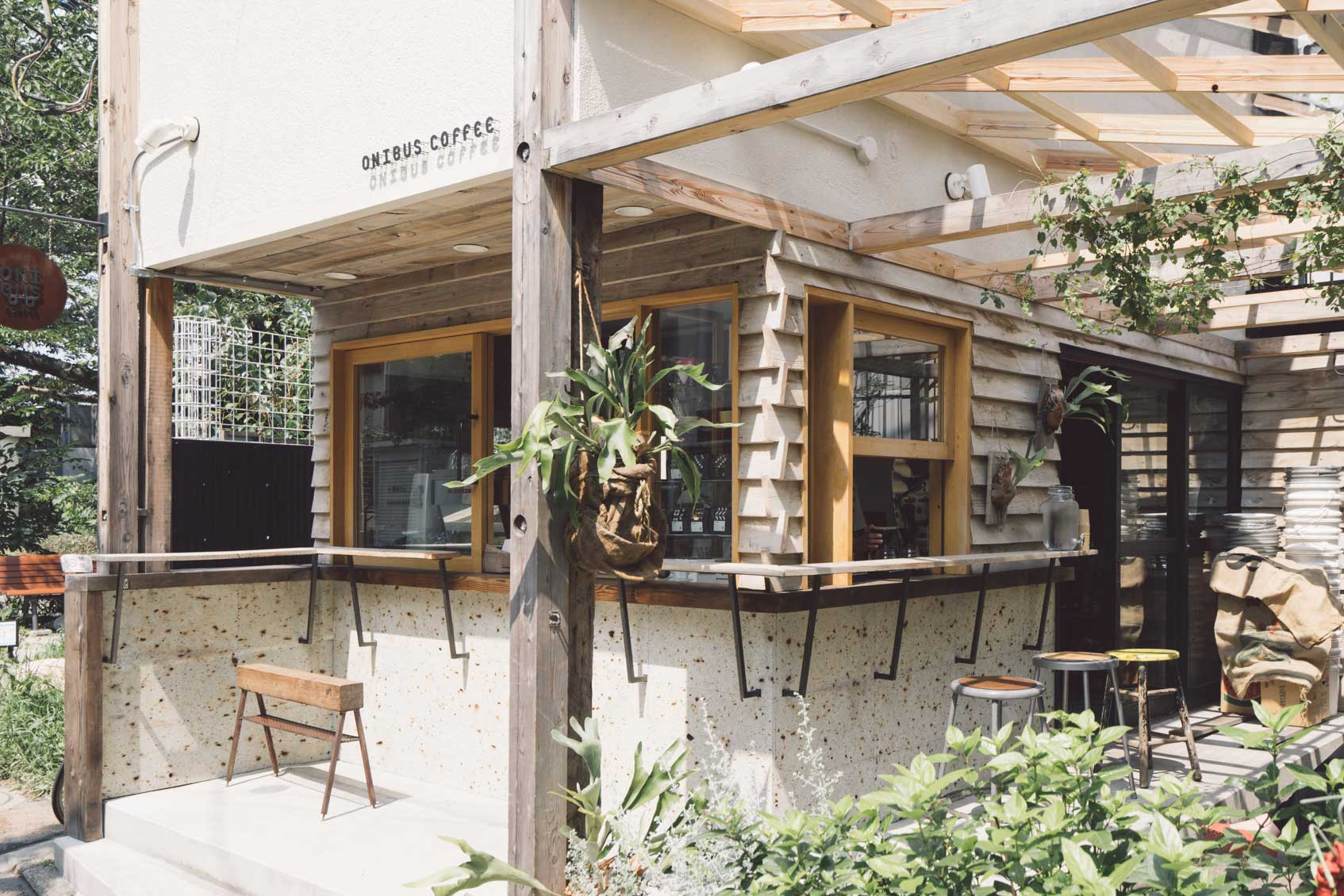 空間と人との繋がりを楽しむロースター&カフェ 『ONIBUS COFFEE』 (東京・中目黒)
