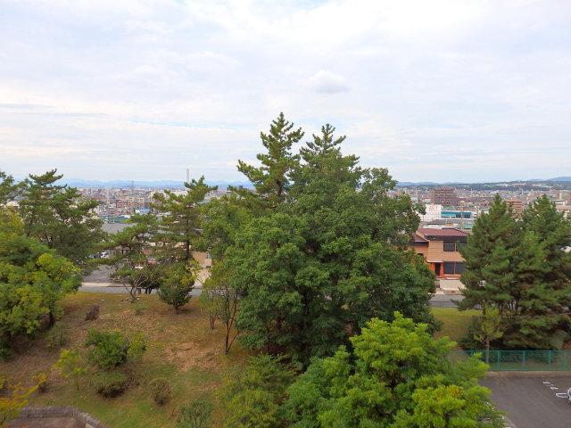 北側窓からの眺望