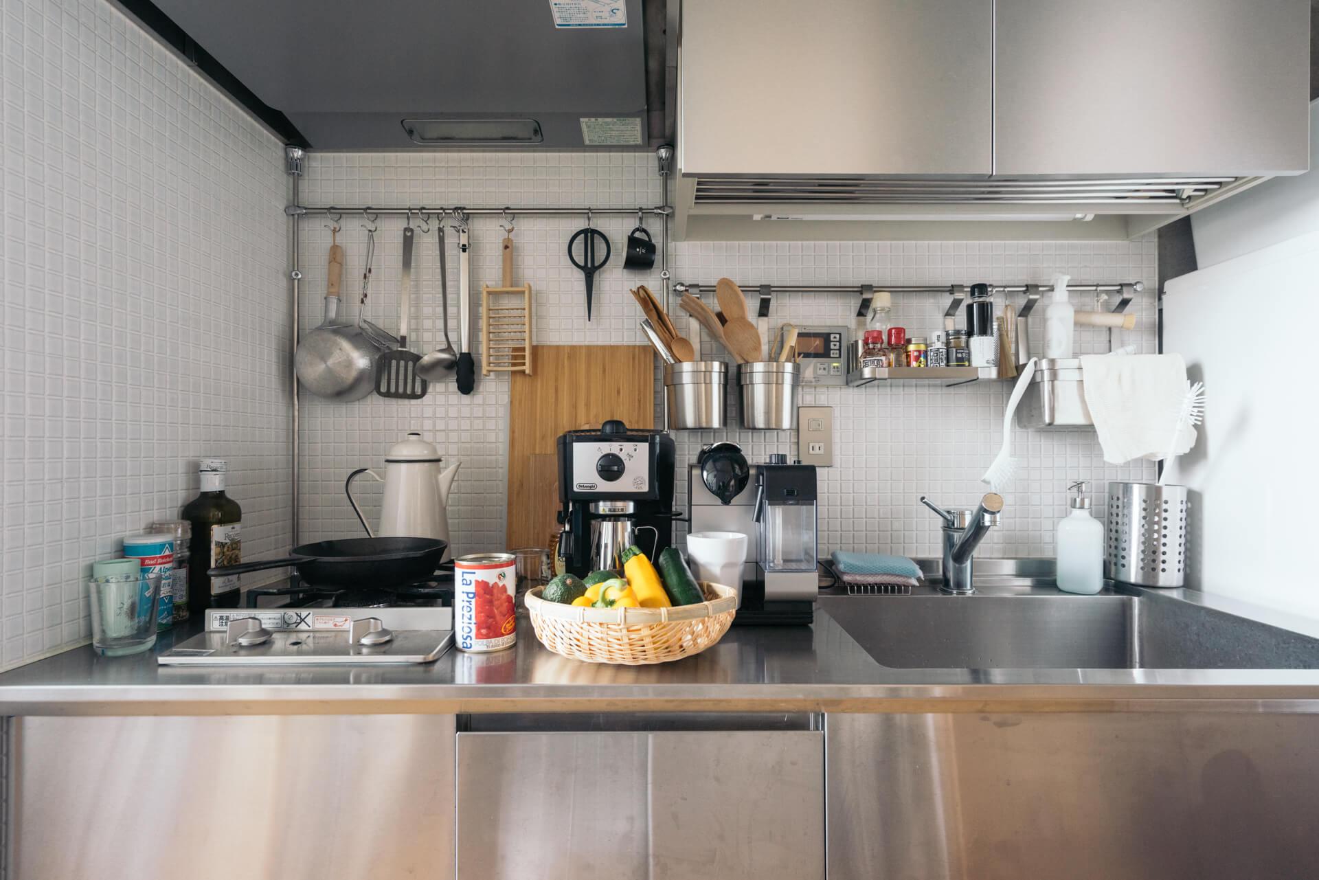 こちらが伊藤さんちのキッチン。
