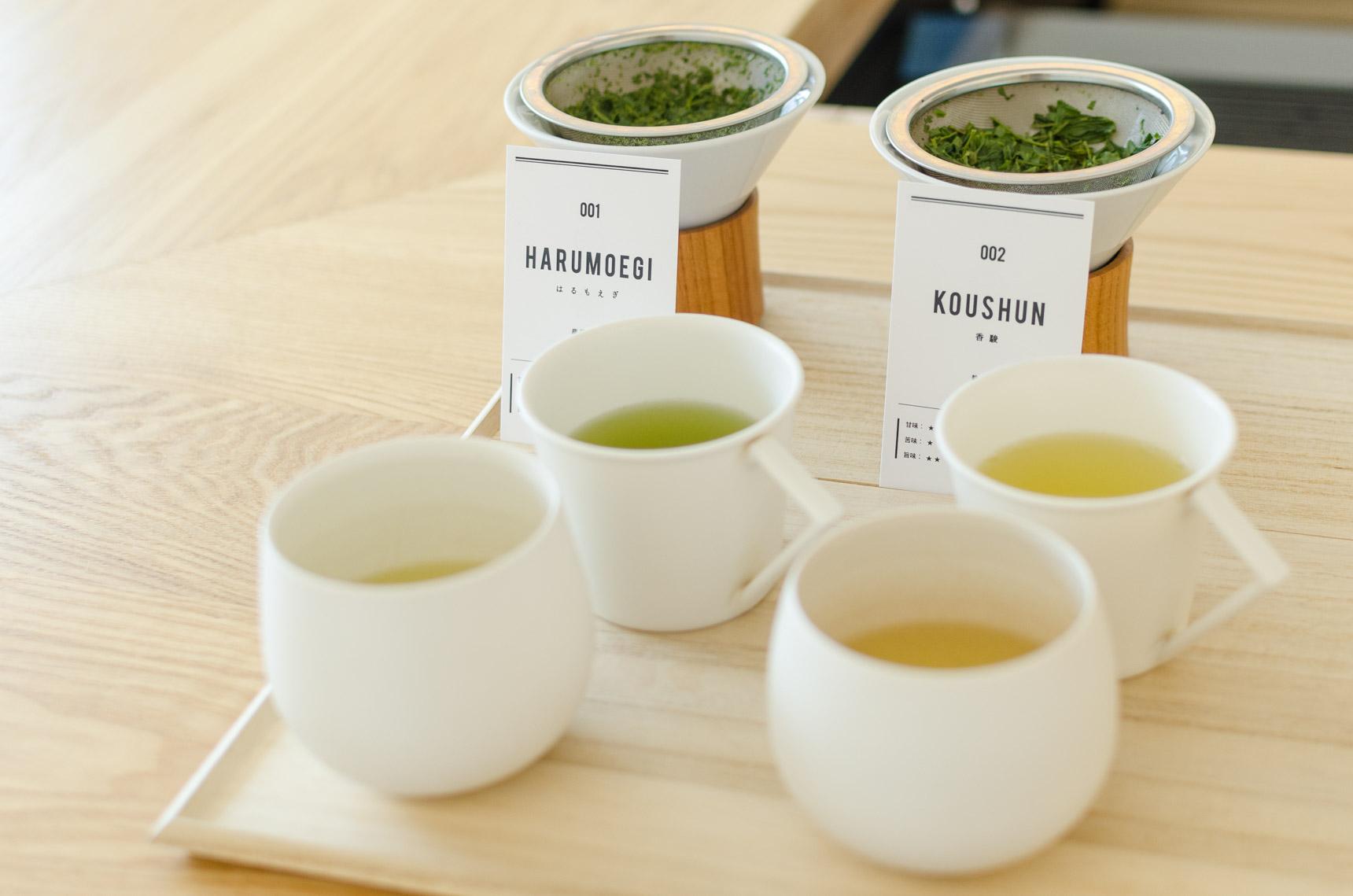 さらに、1煎目を飲み終わる頃には、同じ茶葉を使って2煎目を淹れていただけます。