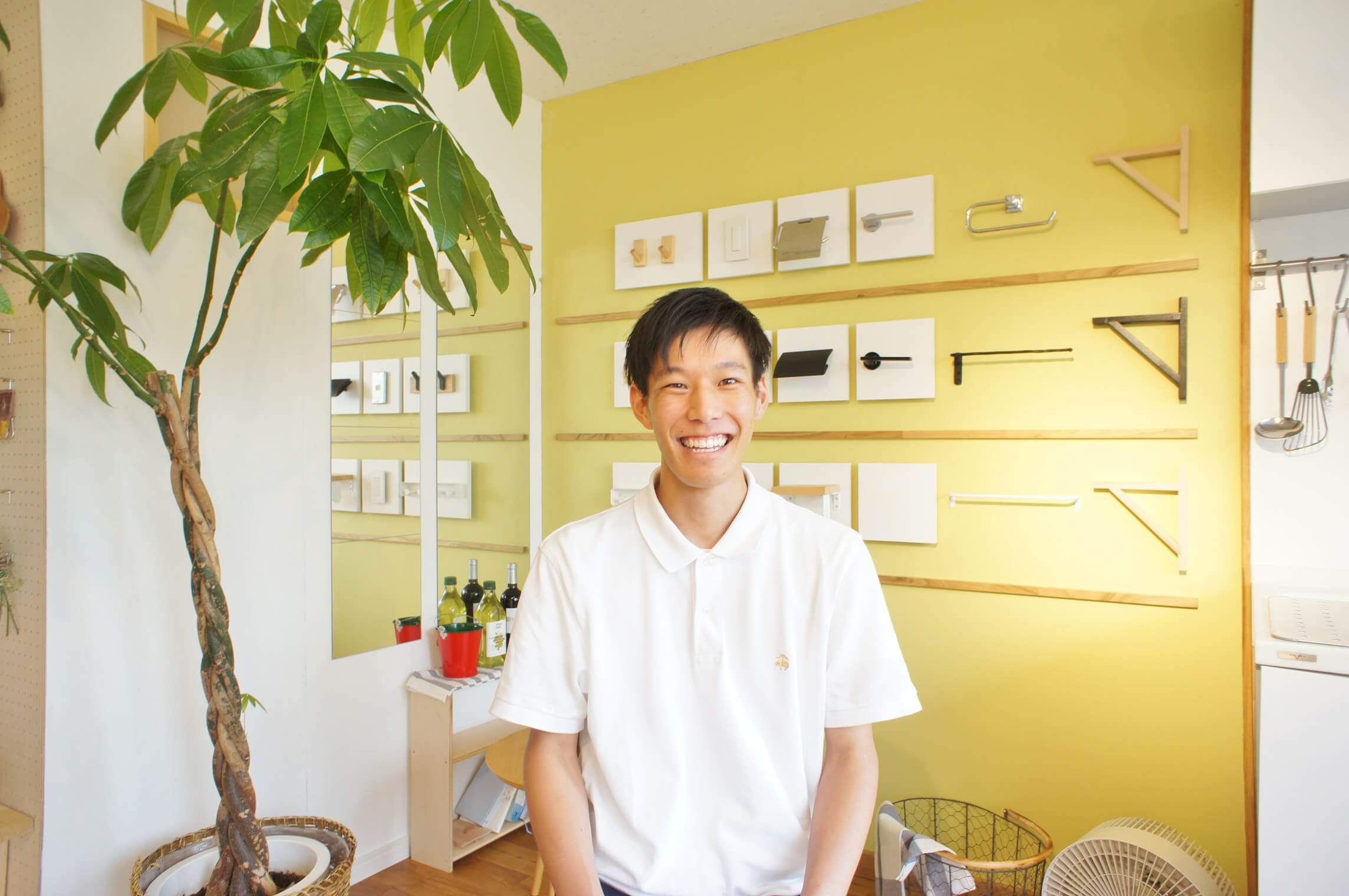 建築系の専門学校に通いながら学生アルバイトスタッフとして勤務。持ち前の建築知識や体力、さわやかな笑顔を武器にお部屋をレポートしています!