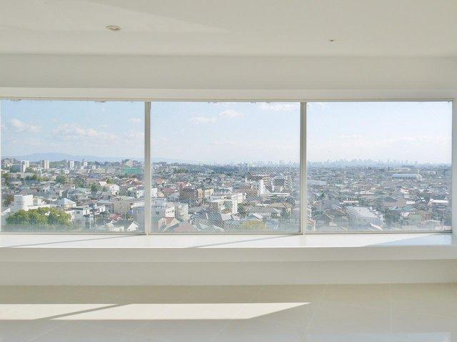 12階建ての最上階。眺望最高です。
