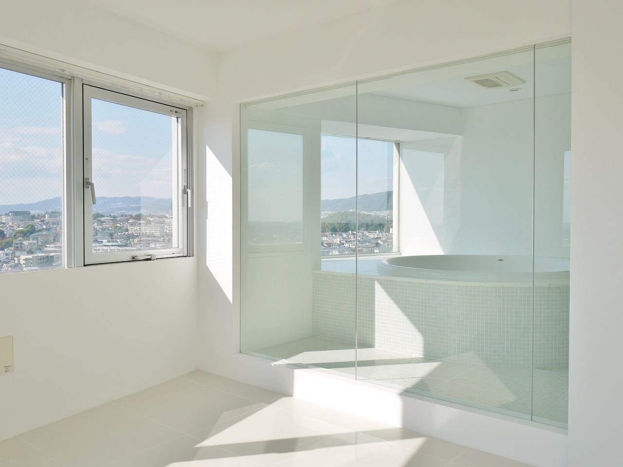 うわーこのバスルーム。夢のよう。