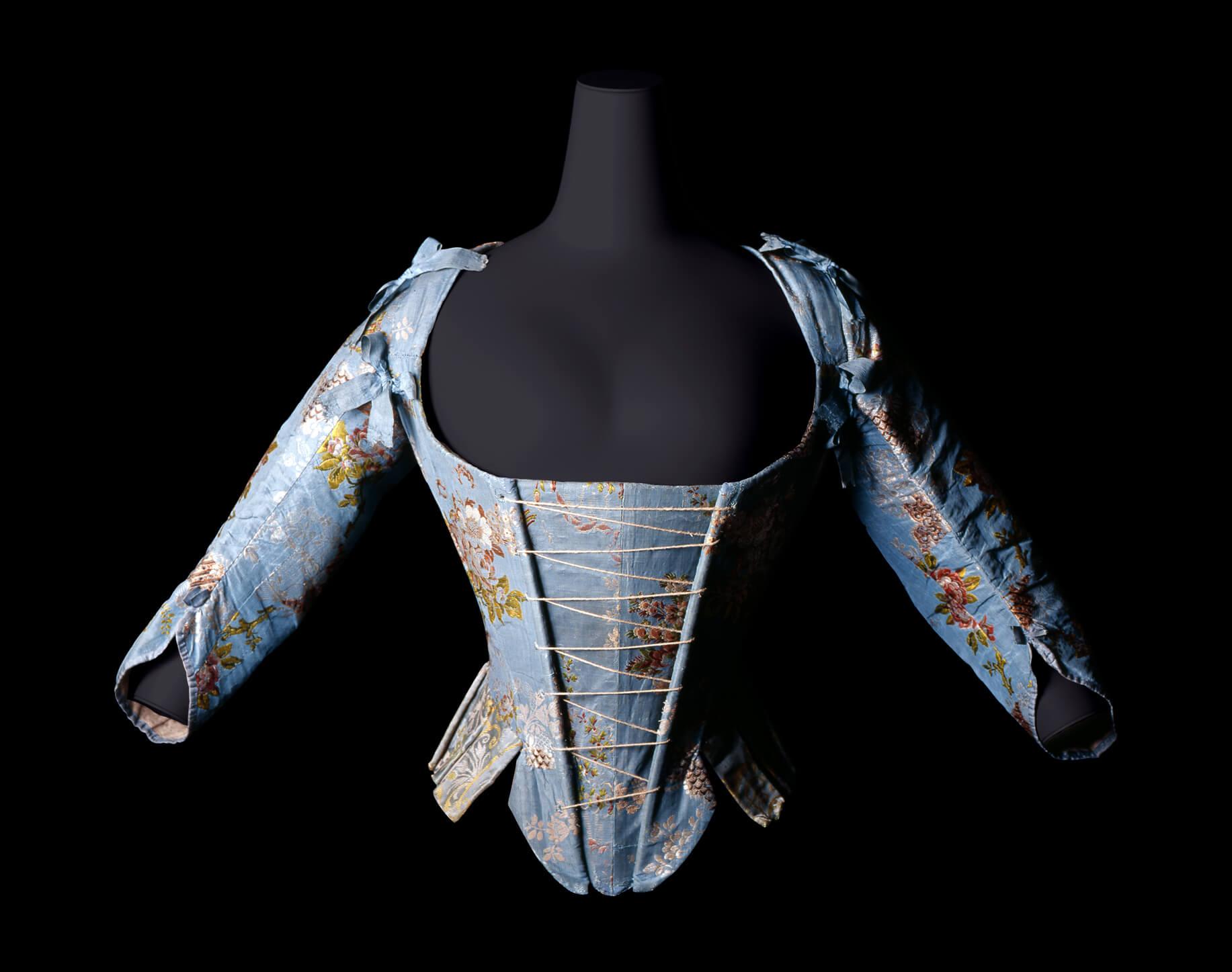 コルセット  1760-70年頃 イタリア / 神戸ファッション美術館蔵