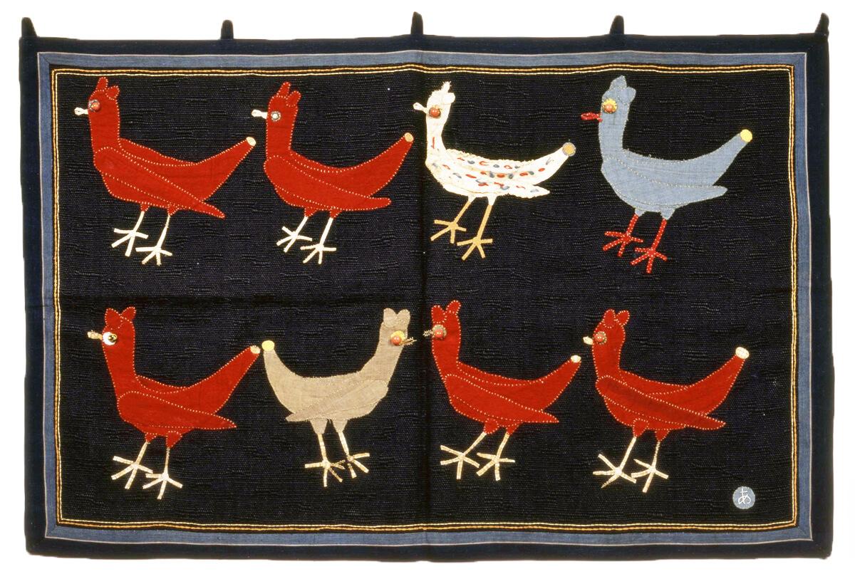 「メキシコの鳥」 1962年 豊田市美術館蔵