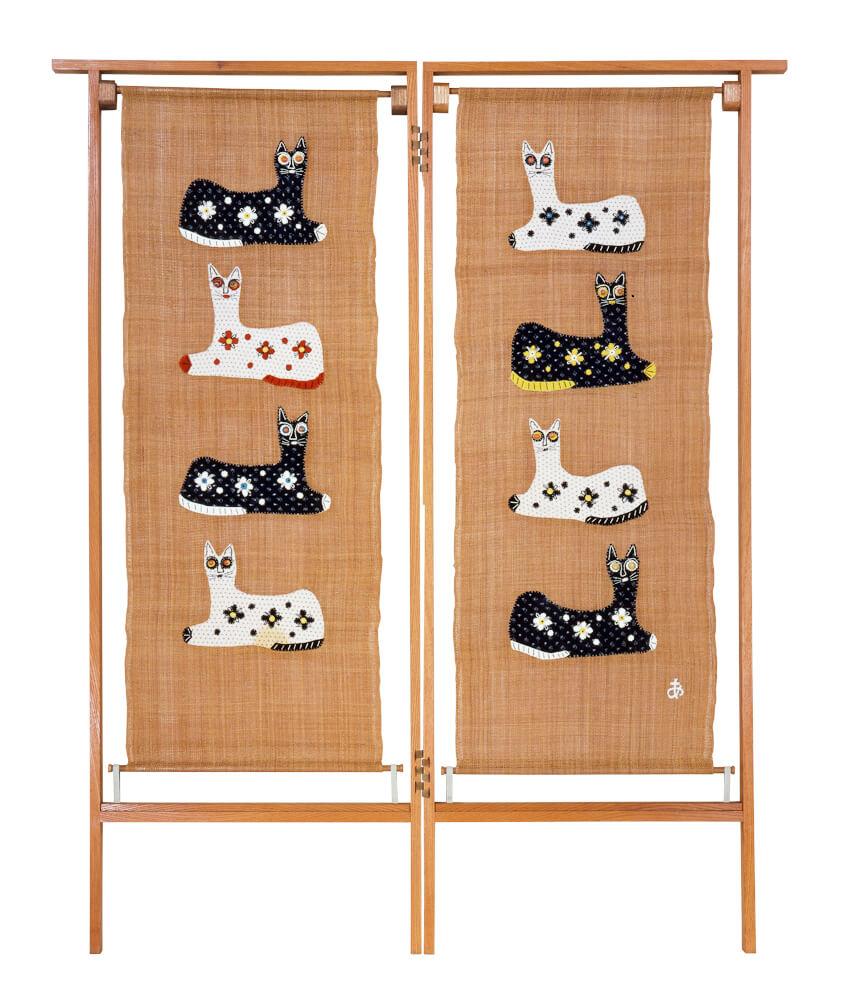 「猫」 1965年 豊田市美術館蔵