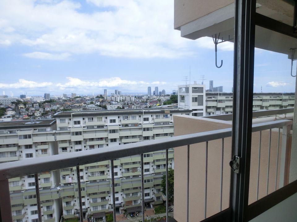 南神大寺団地:横浜のベイエリアが一望できる