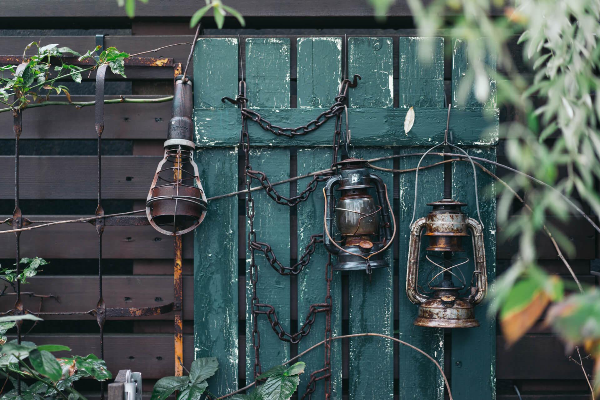 マイブームの照明は、お庭にも!