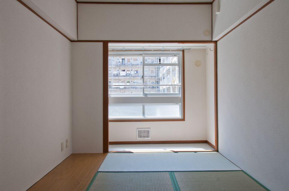 西陣団地1K:4畳半の和室