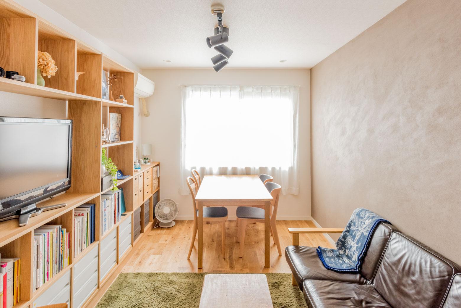 明るくてとても居心地のいい部屋。ぼくもここに住みたい!