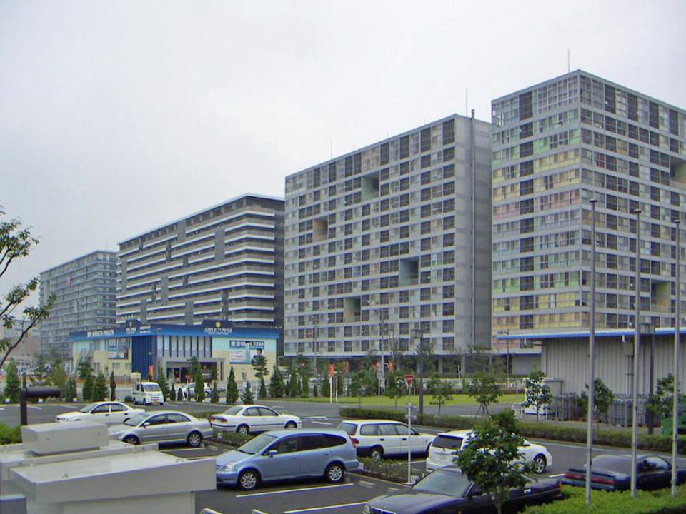 東雲キャナルコートCODAN:棟ごとにデザインや間取りが異なる