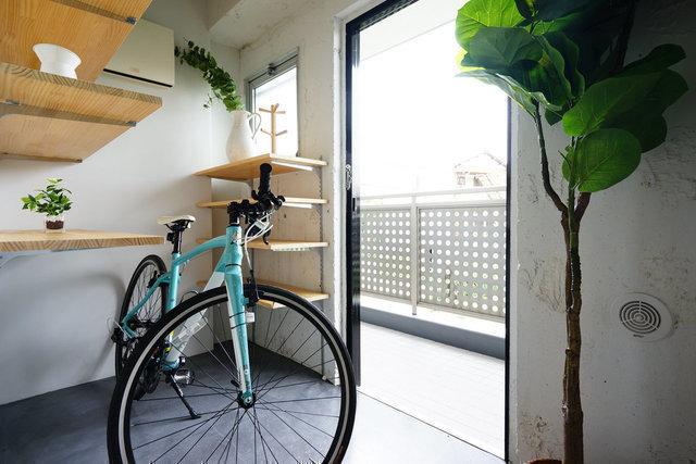 私のおすすめは、広々のワンルームタイプ。ひろーい土間まであって、自転車がおけちゃいますよ。