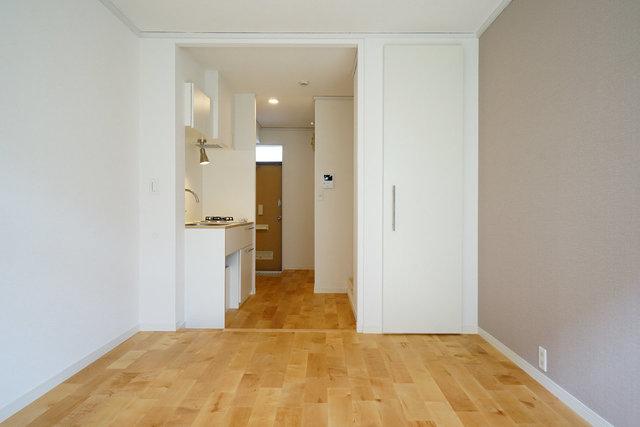 小さくても、無垢フローリングの雰囲気のよいお部屋に(写真は別物件のイメージ)