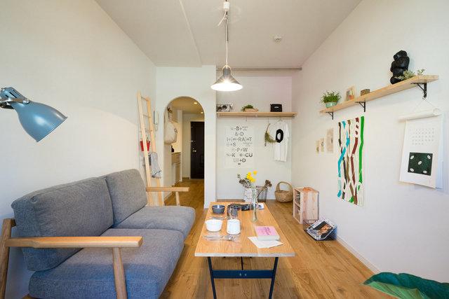 コモンキッチンがある、成増の一棟リノベーションのお部屋はこちら (現在、全室満室です)