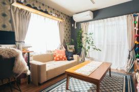 床や壁をカスタマイズできる賃貸で、「私だけ」の印象的な空間をつくる