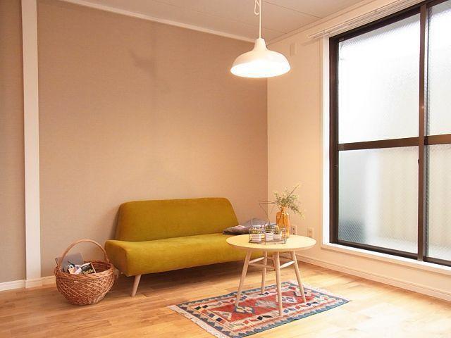 goodroom のオリジナルリノベーション「TOMOS(トモス)」のお部屋は、全室が無垢のフローリングで、いろんな家具がよく似合いますよ
