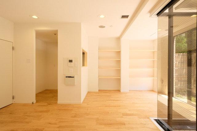 LDKは贅沢に13畳。収納もたくさんつけました。これなら忙しくても、部屋がきちんと片付きそう。