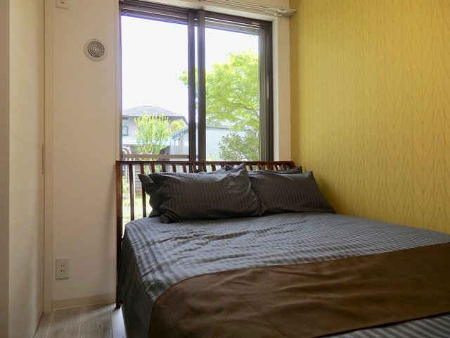その分寝室はちっちゃめなんだけど、このくらいがちょうどいいよね