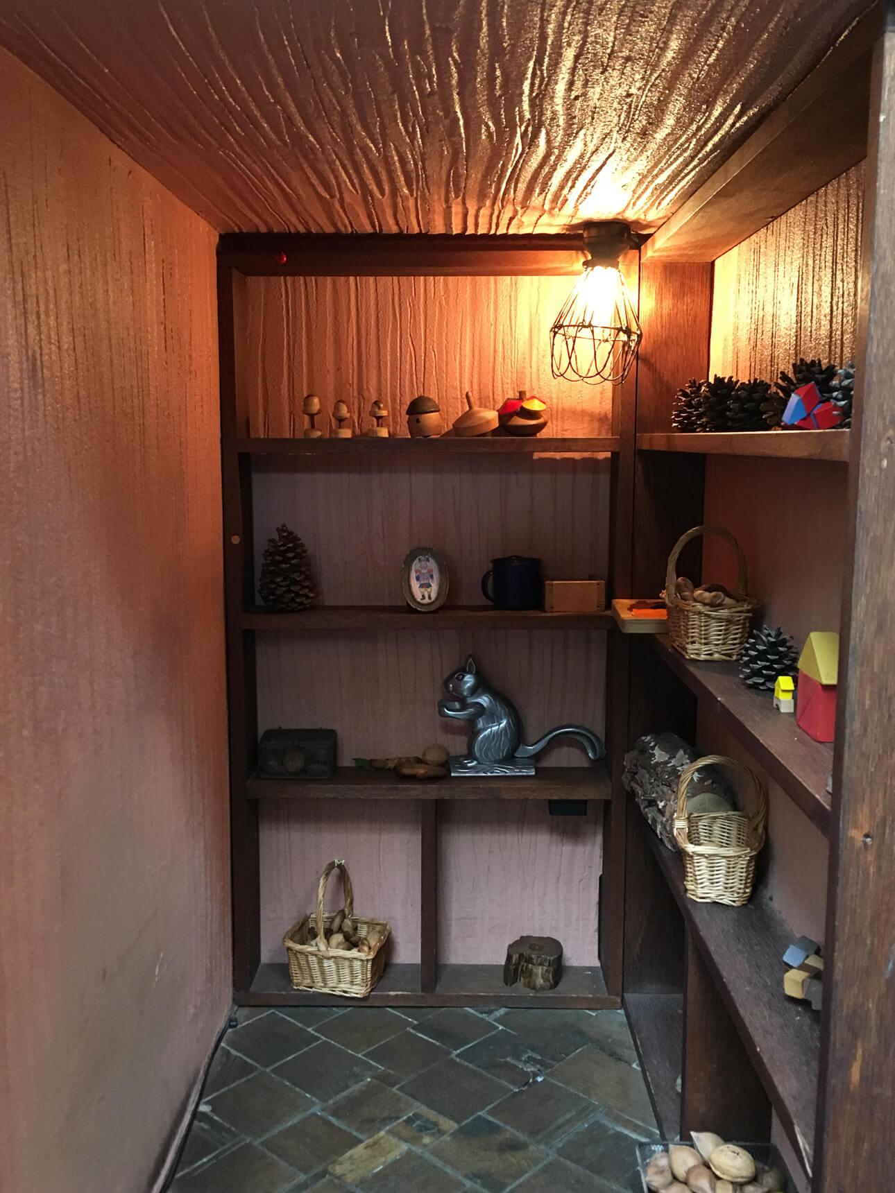 謎の小部屋!? も見つけました。可愛い。