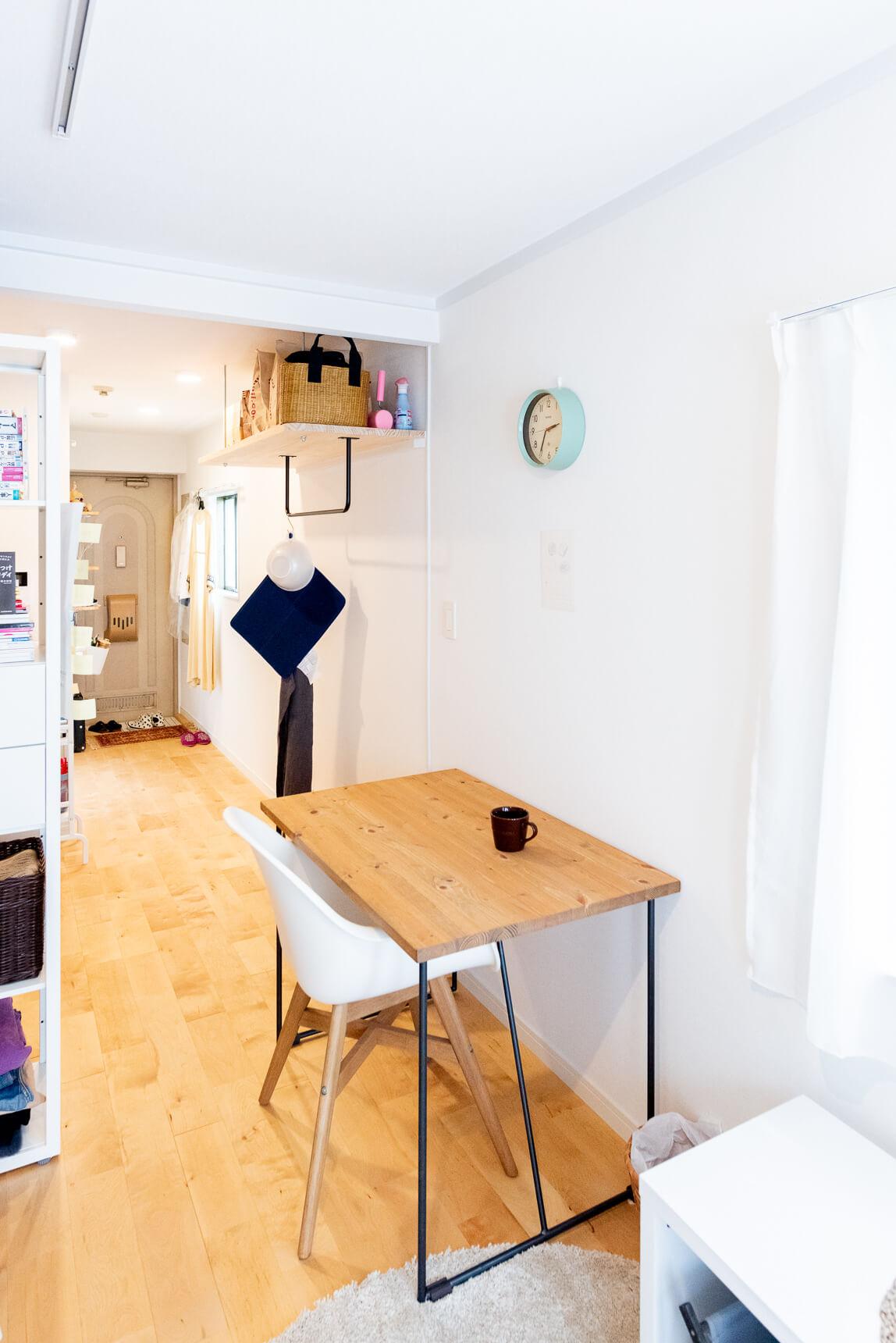 大谷さんご自身も「このテーブルが、この部屋で一番のお気に入り」という。