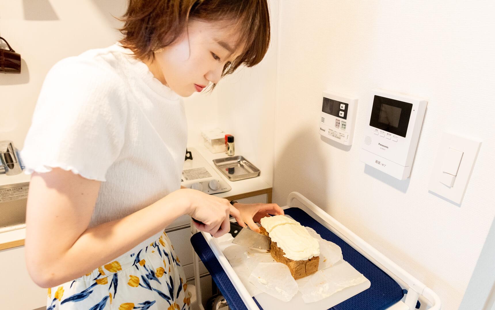 「リフレッシュのために毎週ケーキを焼きます」すごい! すてき!