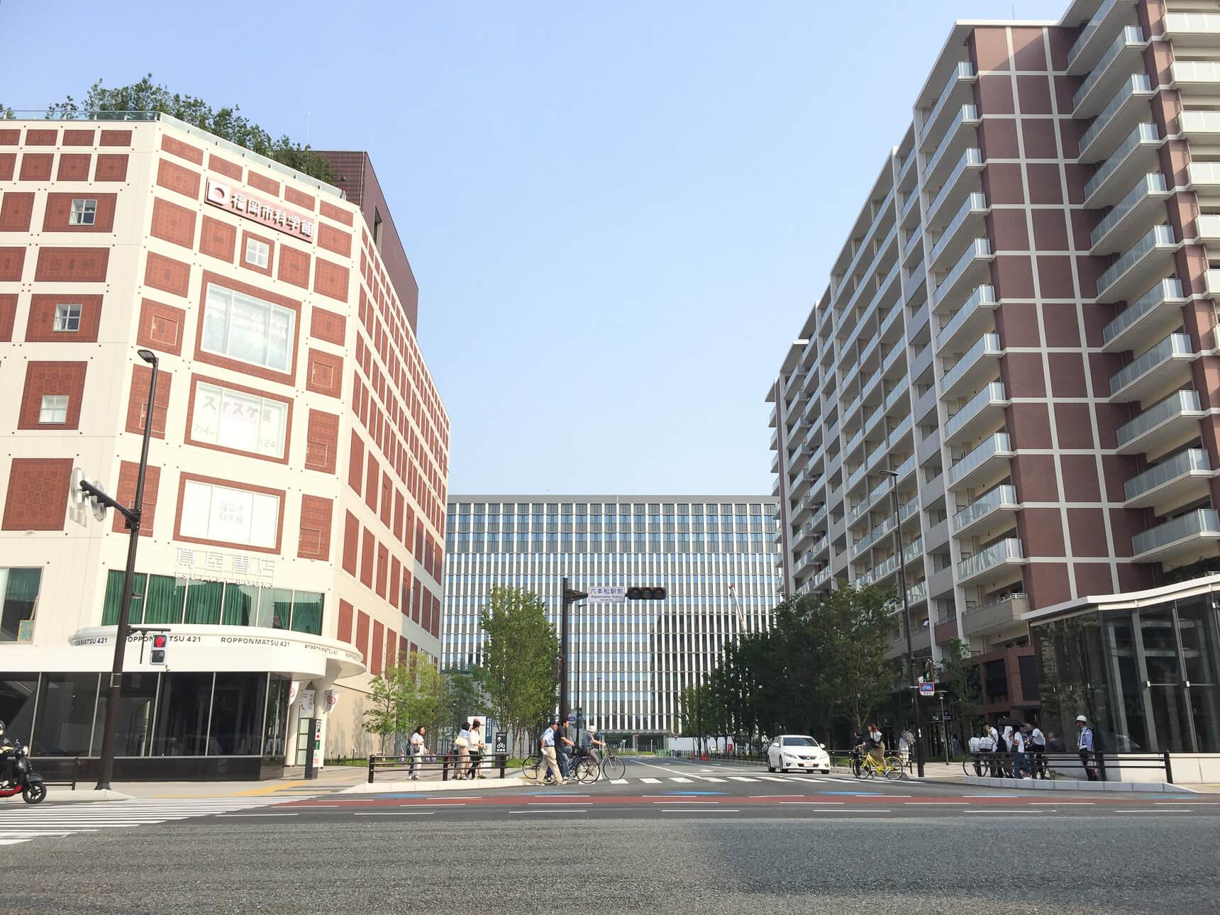 福岡で今熱い街、六本松に住もう!おすすめ物件まとめ