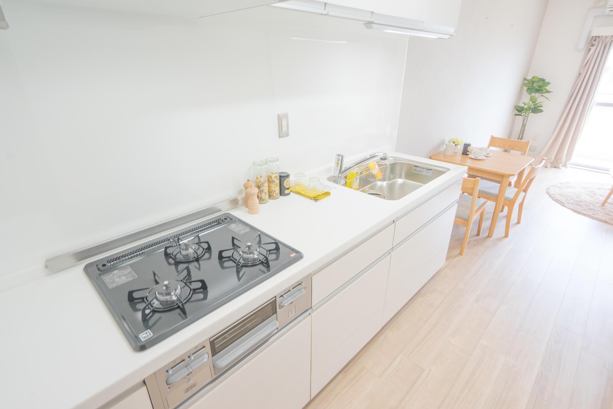 この充実のキッチン、すごいですね!