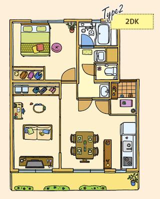 この部屋の詳細を見る ※反転間取りのお部屋です